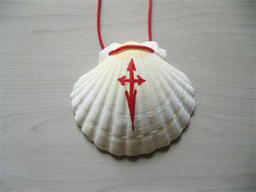 巡礼のシンボル(ホタテ貝)